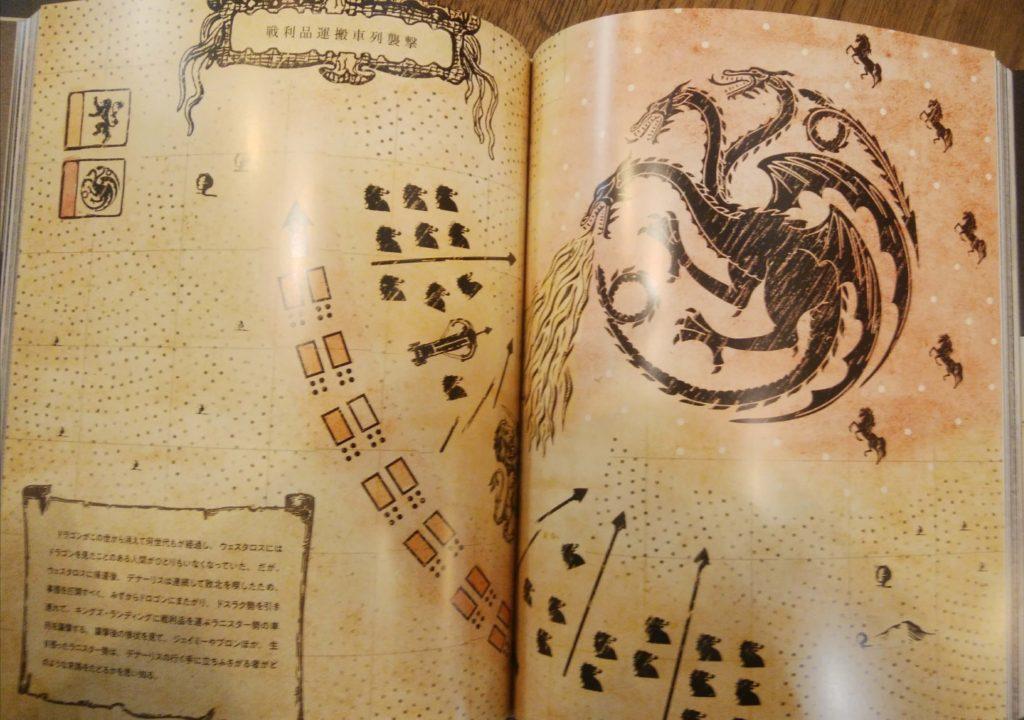 ゲーム・オブ・スローンズコンプリート・シリーズ公式ブック挿絵