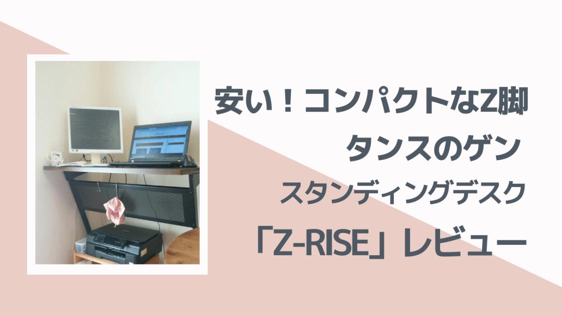 Z-RISEレビュー